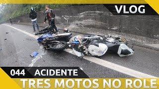 [VLOG] Acidente Yamaha XT660, BMW S1000RR e Honda CBR 600RR na Anhanguera