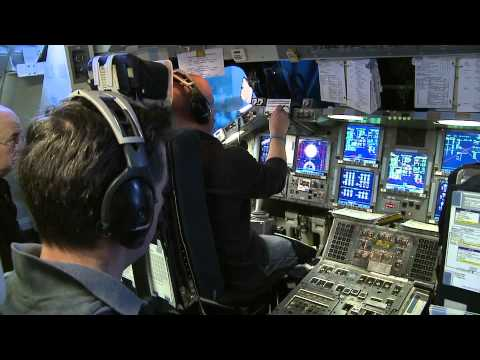 With Mark Kelly in Command Crew Train for STS-134 Shuttle Mission