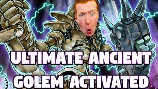 Ultimate Ancient Gear Golem Activated - Yu-gi-oh Duel Links Pvp