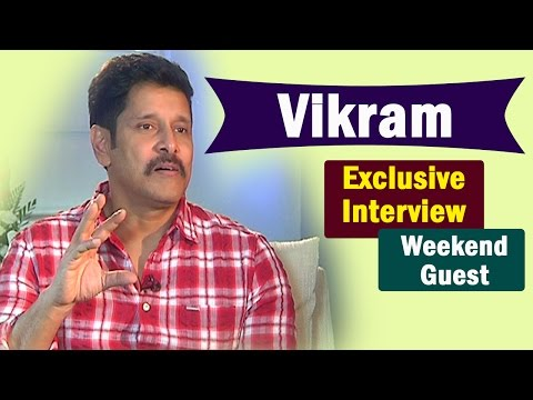 Chiyaan Vikram Exclusive Interview || Weekend Guest || NTV