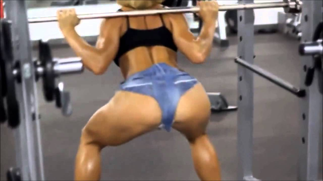 Hot Girl At Gym Workout - Full Hd 2015 - Youtube-6054
