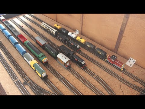 HD Rushden Transport Museum, September 2015, Model Weekend, My Hornby Henry, D7101, D261 & more.