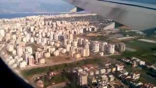 Посадка самолёта боенг 777 в Анталии