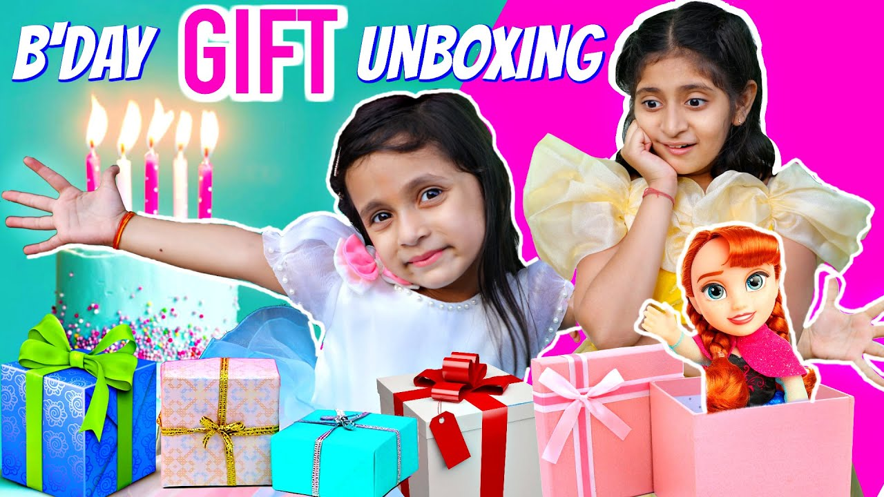 Anaya's 5th BIRTHDAY Gifts SURPRISE | #MyMissAnand #ToyStars
