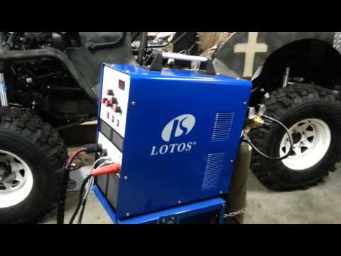 Lotos Tig 200 AC/DC Tig welder.