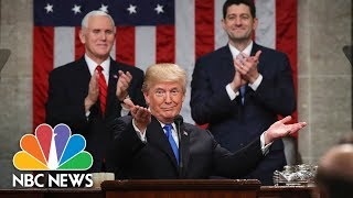 Fact Check: President Donald Trump's Bold Immigration Claims At The State Of The Union | NBC News