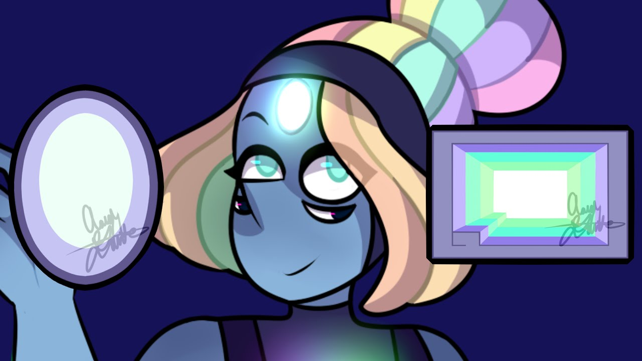 bismuth  pearl   speed paint fan fusion   youtube