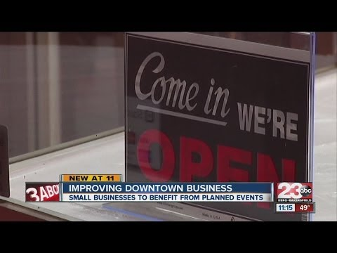 Improving Downtown Business