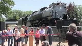 Big Boy 4004 new paint ceremony Cheyenne, Wyoming 2018
