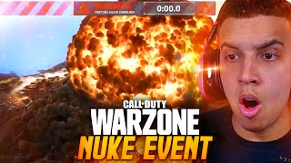 WARZONE NUKE EVENT *LIVE* REACTION! NEW MAP! (Warzone Season 3 Event)