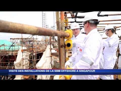 Visite des installations de la SBM Offshore à Singapour - 12 novembre 2014