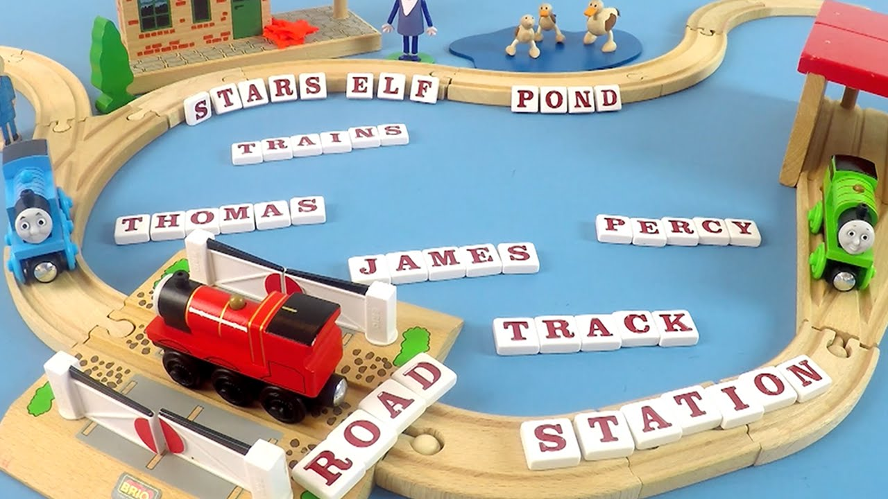 Thomas, Percy and James Spell Words They Read at the Train Station | Toys  for Kids - Toy Store