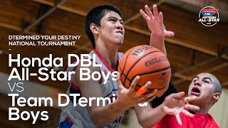 F NAL D  USA Team DTermined Vs Honda DBL All Star Boys