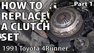 How to Replace a Clutch Set - Part 1