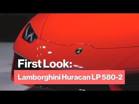 New Rear-Wheel Drive Lamborghini Huracan