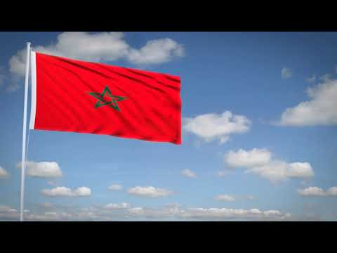 Studio3201 - Animated flag of Morocco