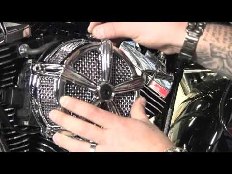 Kuryakyn: Mach II Air Cleaner Street Glide Installation