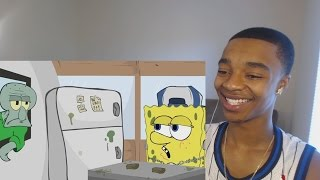 Ghetto Spongebob REACTION! SPONGEBOBBY SWEATPANTS Ep.1