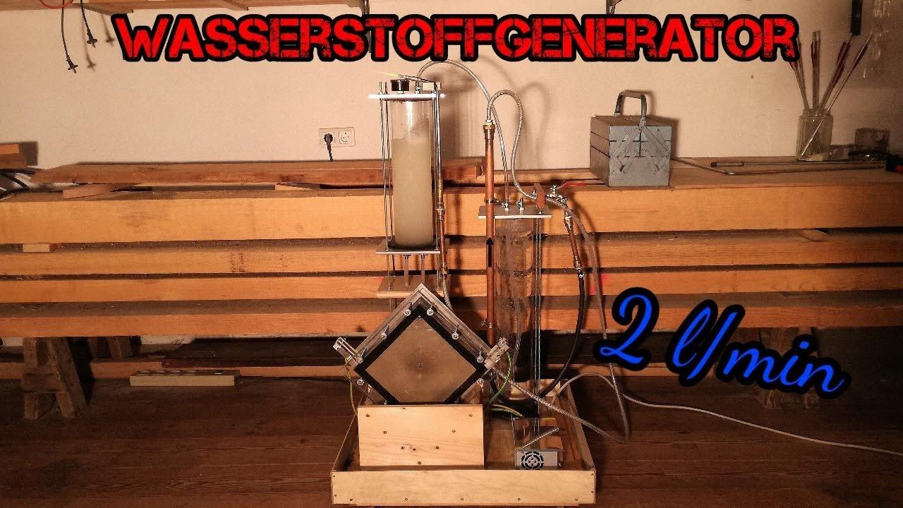Favorit Wasserstoffgenerator für HHO selber bauen - meine Trockenzelle ZM68