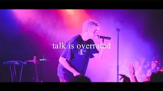 Jeremy Zucker - talk is overrated Live in LA [4K]