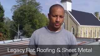 Should I use a metal roof or flat roof? - Legacy Flat Roofing & Sheet Metal