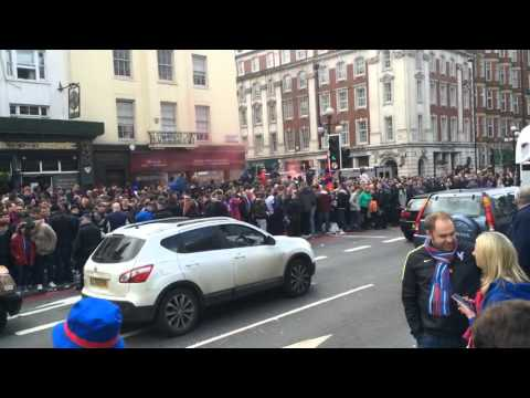 Crystal Palace FC's Fans in London