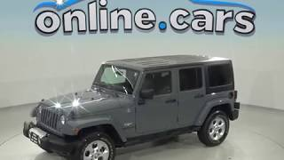 A98605TA - Used, 2015, Jeep Wrangler, Unlimited, Sahara, Test Drive, Review, For Sale