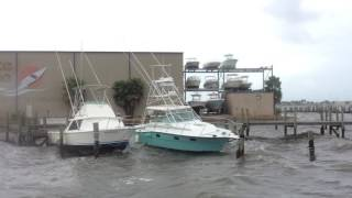 Video: Boats bounce around on rough water in Jensen Beach