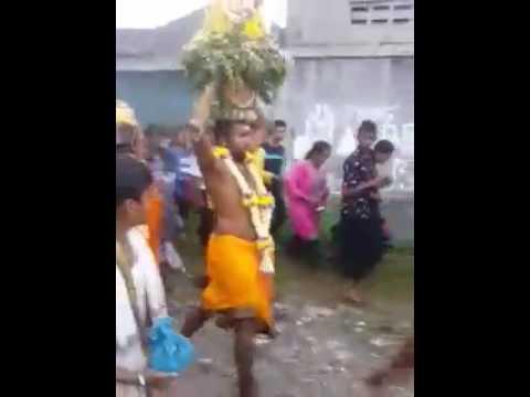 Karagam sri mariamman kuil sunggal medan indonesia