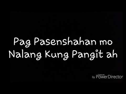 Para Sa Babaeng Ayaw Na Ayaw Kung Mawala (LSM) 1st Monthsary Message...
