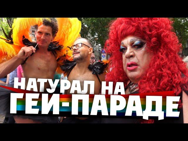 ТРИУМФ ЛГБТ В АМСТЕРДАМЕ: нет! это должно было закончиться иначе!!