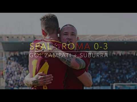 SPAL ROMA 0:3 - Goal Zampati + Suburra