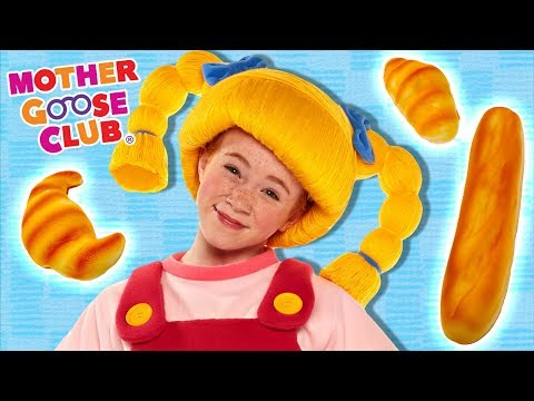 Mulberry Bush | HERE WE GO ROUND | Fun Cleaning Song | Mother Goose Club Songs for Children
