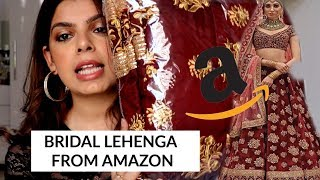 I tried Bridal Lehenga from Amazon | Rs.1000 | Review