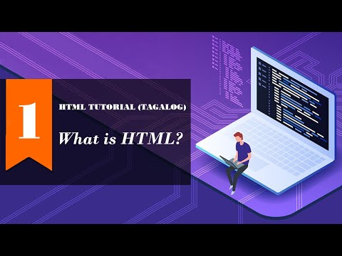 HTML TUTORIAL 1 - What Is HTML?