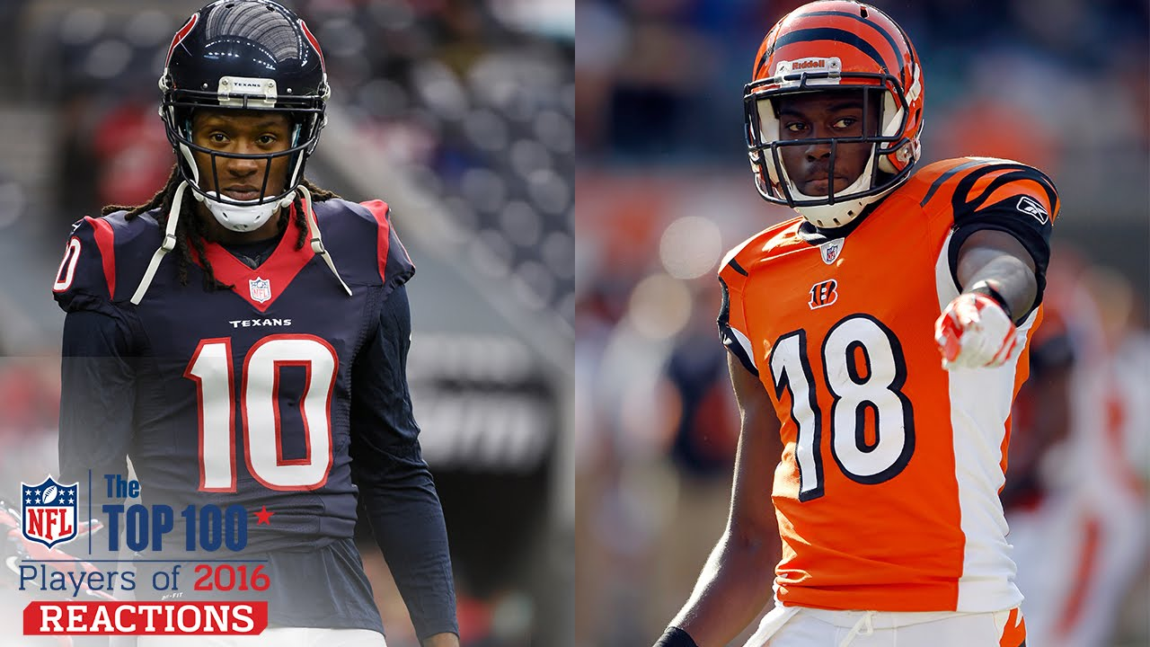 Take Your Pick DeAndre Hopkins or A J Green & Russell Wilson or