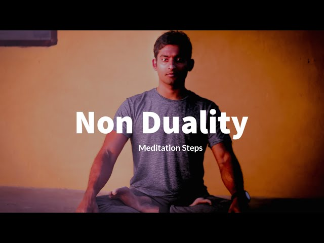 Breath Meditation Steps to Dissolve Duality | Practice at your own pace
