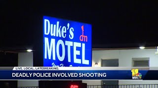 Officer-involved shooting at motel in Rosedale leaves suspect dead