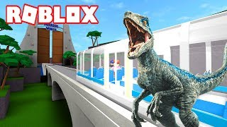 THE INCREDIBLE WORLD OF JURASSIC WORLD IN ROBLOX!!!