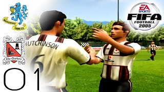 FIFA 2005 Career Mode - Darlington - Macclesfield (H) - Part 01