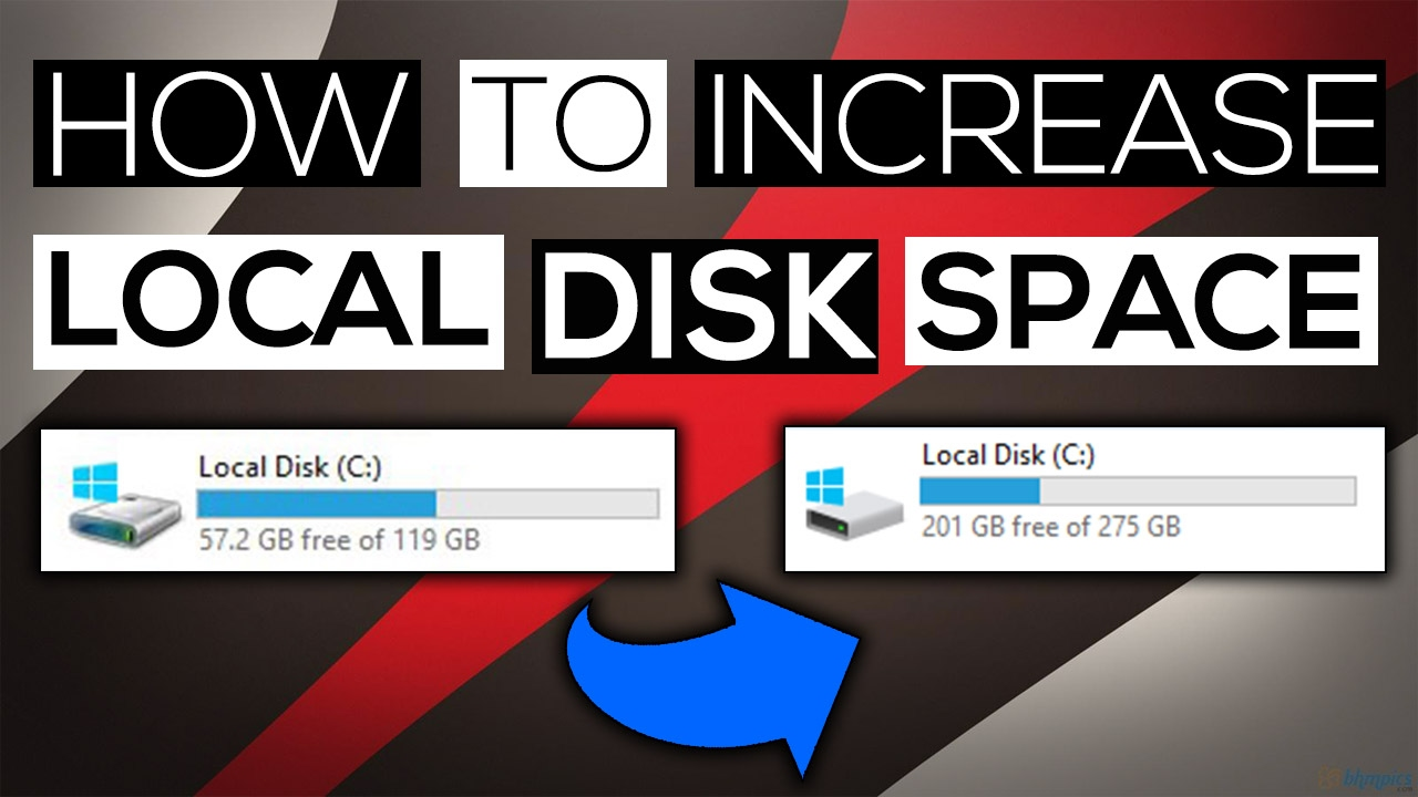 how to clear space on local disk