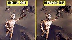Borderlands 2 - Original vs Remaster Graphics Comparison | Direct Comparison
