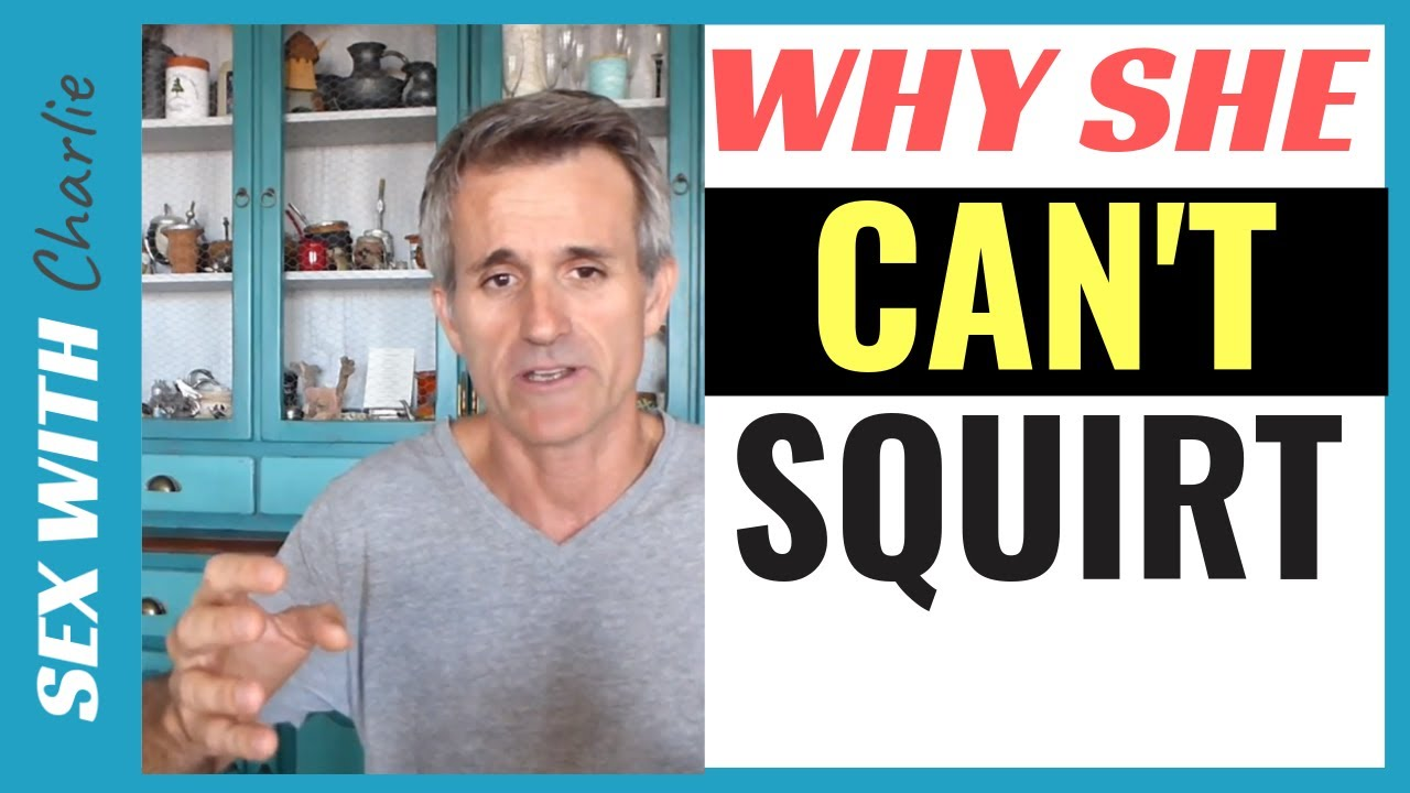 Why Many Women Cant Squirt Or Ejaculate