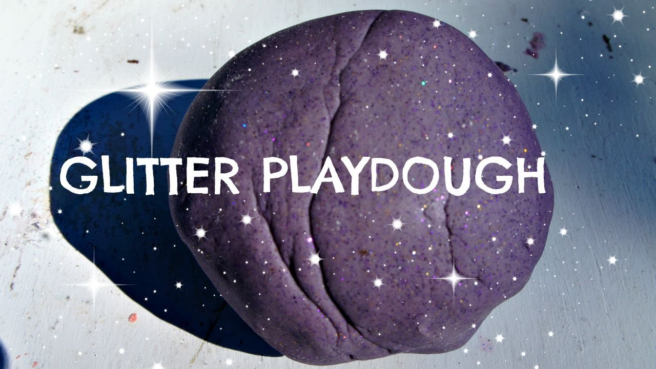 How To Make Glitter Playdough Recipe No Cook No Cream Of Tartar