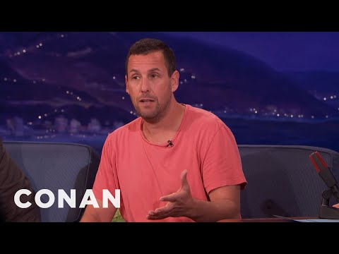 "Adam Sandler On Hitting 6-Year-Olds With Dodgeballs In ""Billy Madison""  - CONAN on TBS"