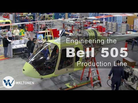 Bell 505 Jet Ranger X Production Engineering Case Study