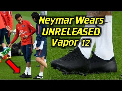 5a8efcfdd NEYMAR Wears UNRELEASED Nike Mercurial Vapor 12  (2018 World Cup Cleats )