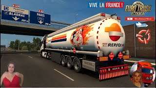 "Euro Truck Simulator 2 (1.38)   Trailer Skin Pack for MDModding Ownable Fuel Cistern Euro Truck Simulator 2 (1.38) Iveco Hi-Way XP Reworked v2.9 [Schumi] [1.38] Toulouse France DLC by SCS Animated gates in companies v3.7 [Schumi] Real Company Logo v1.0 [Schumi] Company addon v1.8 [Schumi] Trailers and Cargo Pack by Jazzycat Motorcycle Traffic Pack by Jazzycat FMOD ON and Open Windows Naturalux Graphics and Weather Spring Graphics/Weather v3.6 (1.38) by Grimes Test Gameplay ITA Europe Reskin v1.0 + DLC's & Mods This is Skin pack for Fuel Cistern Owned Trailer Created by MDModder/MDModding. (Special Addition: Indian Fuel Oil Companies) Skins are: Aral, Avia, BP, Castrol, Chevron, Eni, Exxon Mobil, Gazprom, Gulf, Lukoil, OMV, Orlen & Petrobras. Skins For Indian Fuel oil: Hindustan Petroleum, Indian Oil & Bharat Petroleum. http://www.modhub.us/euro-truck-simulator-2-mods/trailer-skin-pack-for-mdmodding-ownable-fuel-cisterns-1-37-1-38/ https://modsbase.com/0ij7g1u00kwi/Fuel_Cistern.zip.html  SCS Software News Iberian Peninsula Spain and Portugal Map DLC Planner...2020 https://www.youtube.com/watch?v=NtKeP0c8W5s Euro Truck Simulator 2 Iveco S-Way 2020 https://www.youtube.com/watch?v=980Xdbz-cms&t=56s Euro Truck Simulator 2 MAN TGX 2020 v0.5 by HBB Store https://www.youtube.com/watch?v=HTd79w_JN4E  #TruckAtHome #covid19italia Euro Truck Simulator 2    Road to the Black Sea (DLC)    Beyond the Baltic Sea (DLC)   Vive la France (DLC)    Scandinavia (DLC)    Bella Italia (DLC)   Special Transport (DLC)   Cargo Bundle (DLC)   Vive la France (DLC)    Bella Italia (DLC)    Baltic Sea (DLC) Iberia (DLC)   American Truck Simulator New Mexico (DLC) Oregon (DLC) Washington (DLC) Utah (DLC) Idaho (DLC) Colorado (DLC)     I love you my friends Sexy truck driver test and gameplay ITA  Support me please thanks Support me economically at the mail vanelli.isabella@gmail.com  Roadhunter Trailers Heavy Cargo  http://roadhunter-z3d.de.tl/ SCS Software Merchandise E-Shop https://eshop.scssoft.com/  Euro Truck Simulator 2 http://store.steampowered.com/app/227... SCS software blog  http://blog.scssoft.com/  Specifiche hardware del mio PC: Intel I5 6600k 3,5ghz Dissipatore Cooler Master RR-TX3E  32GB DDR4 Memoria Kingston hyperX Fury MSI GeForce GTX 1660 ARMOR OC 6GB GDDR5 Asus Maximus VIII Ranger Gaming Cooler master Gx750 SanDisk SSD PLUS 240GB  HDD WD Blue 3.5"" 64mb SATA III 1TB Corsair Mid Tower Atx Carbide Spec-03 Xbox 360 Controller Windows 10 pro 64bit"