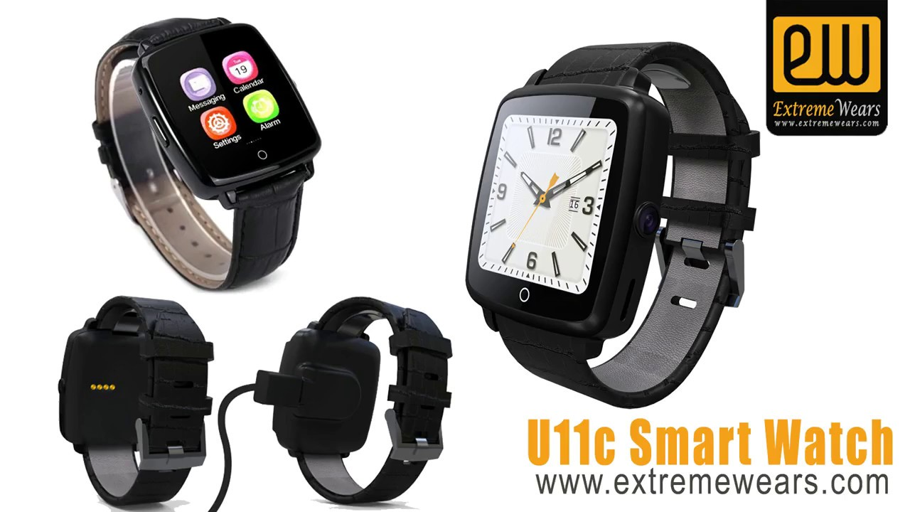 ea711cd86 Universal Smart watch Apple and Android Phone supported - YouTube