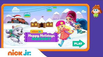 Play the Free 'Happy Holidays Resort' 🎄 Game w/ PAW Patrol, Shimmer & Shine, & More | Nick Jr. Games